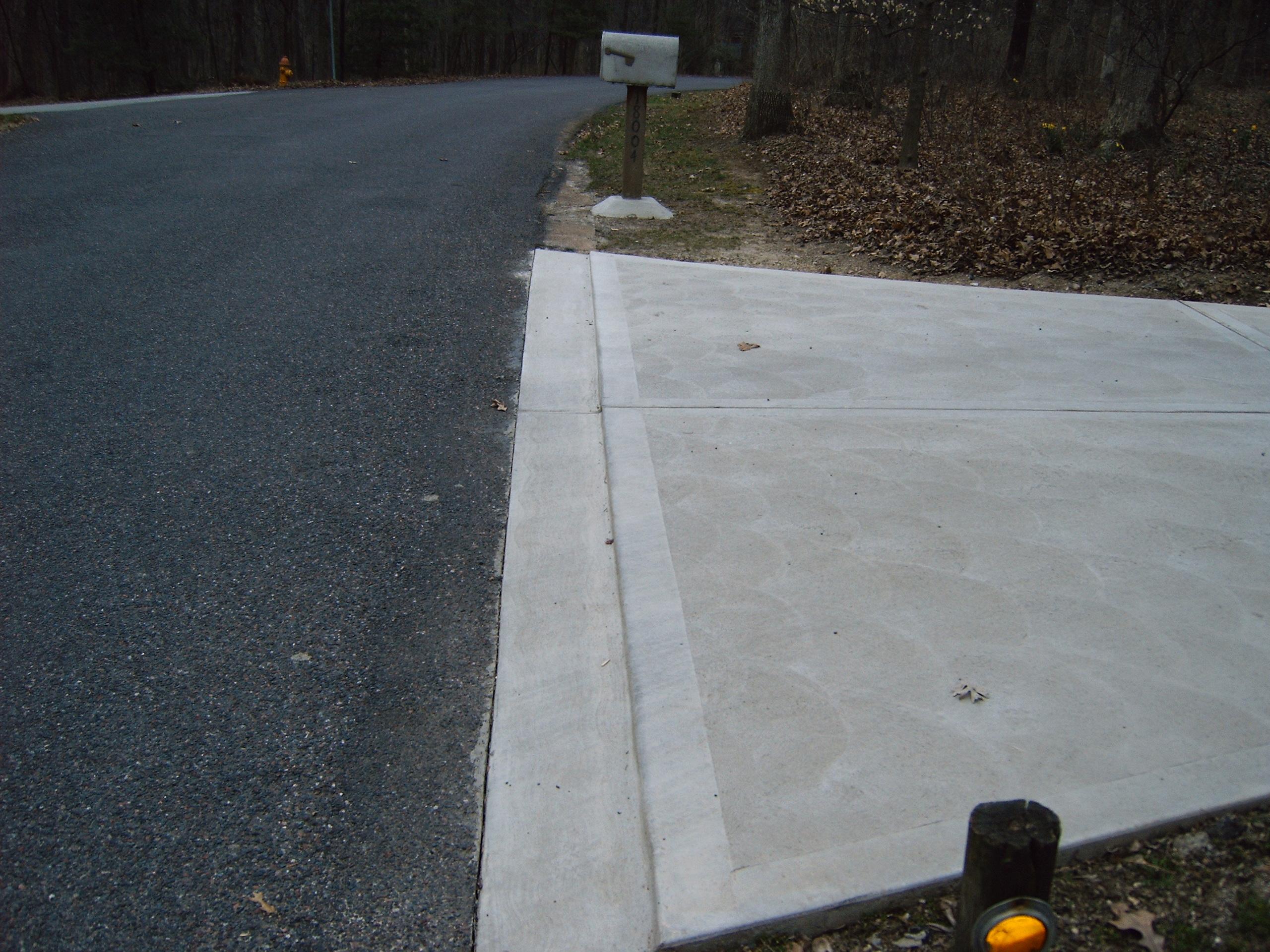 Mag Swirl Driveway
