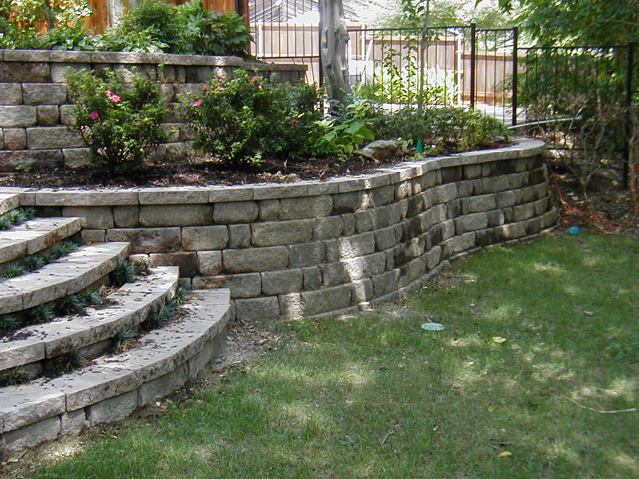 218 best Retainer Walls images on Pinterest Landscaping ideas